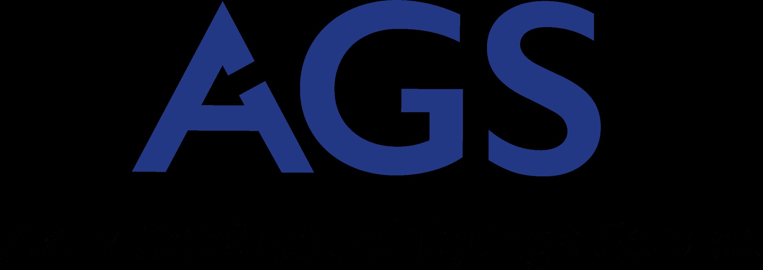 AGS Logo blau ohne Hintergrund